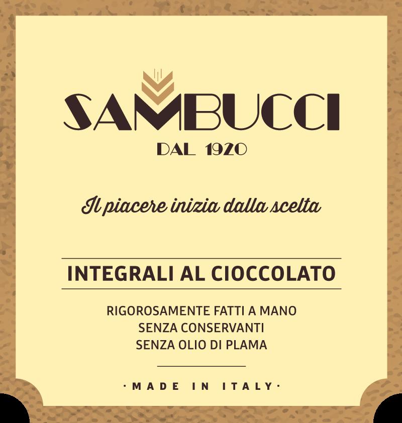 biscuits label Sambucci dal 1920
